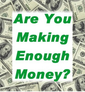 Enough money
